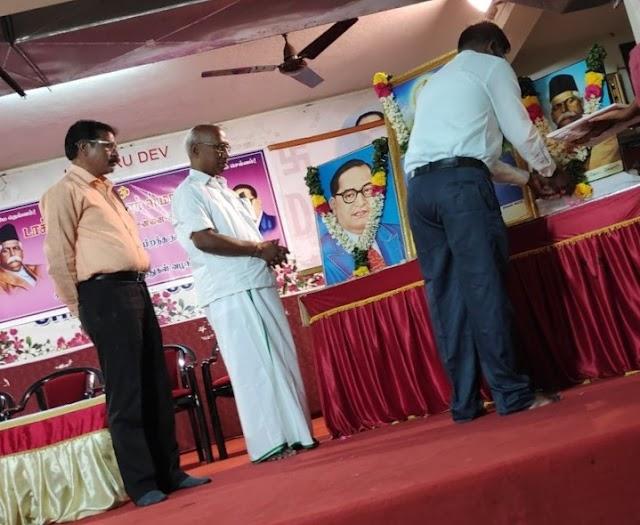 Social Harmony awards commemorating Dr. Ambedkar birth anniversary in Chennai