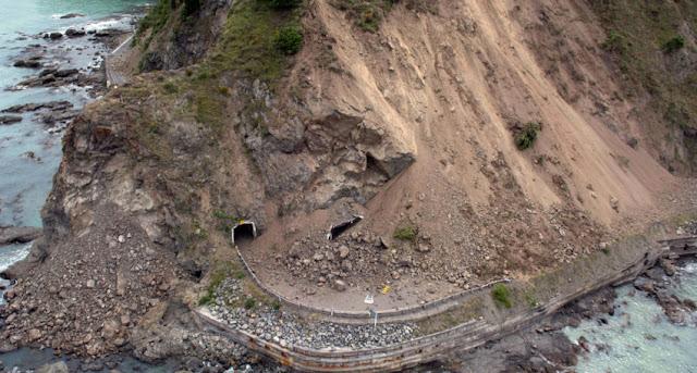 Med husbil på sydön på Nya Zeeland - planering pågår i jordbävningarnas eftermäle