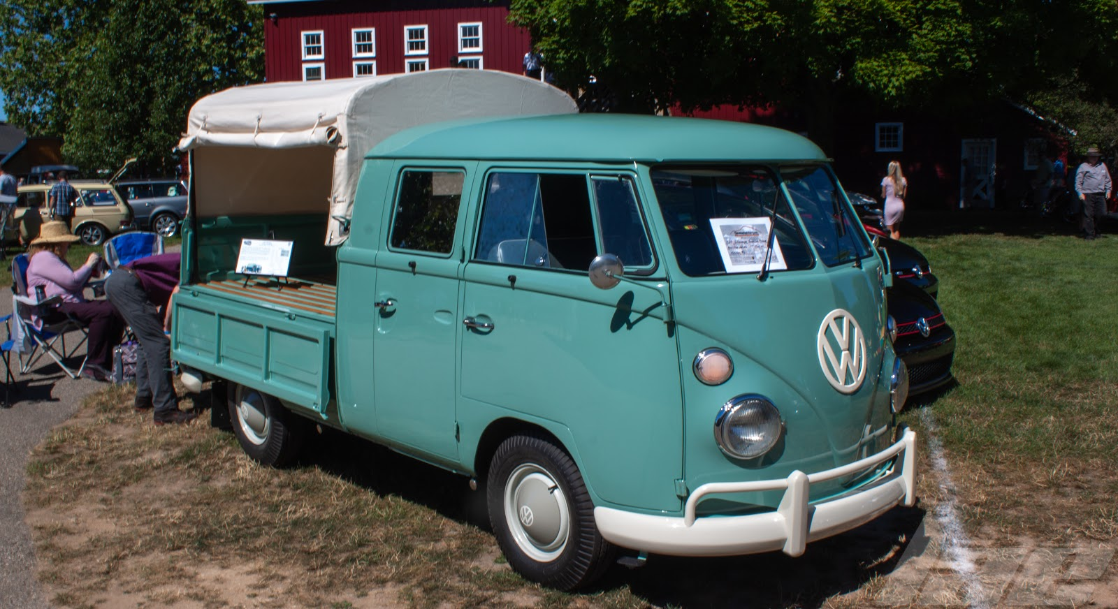 This Vw 4 Door Cab Pickup Is A Pretty Rare Vehicle Rear Engine Truck
