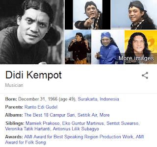 Kumpulan Lagu Didi Kempot
