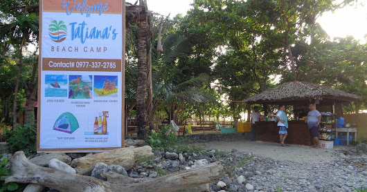 A Taste of Tatiana's Beach Camp Resort in Nasugbu, Batangas