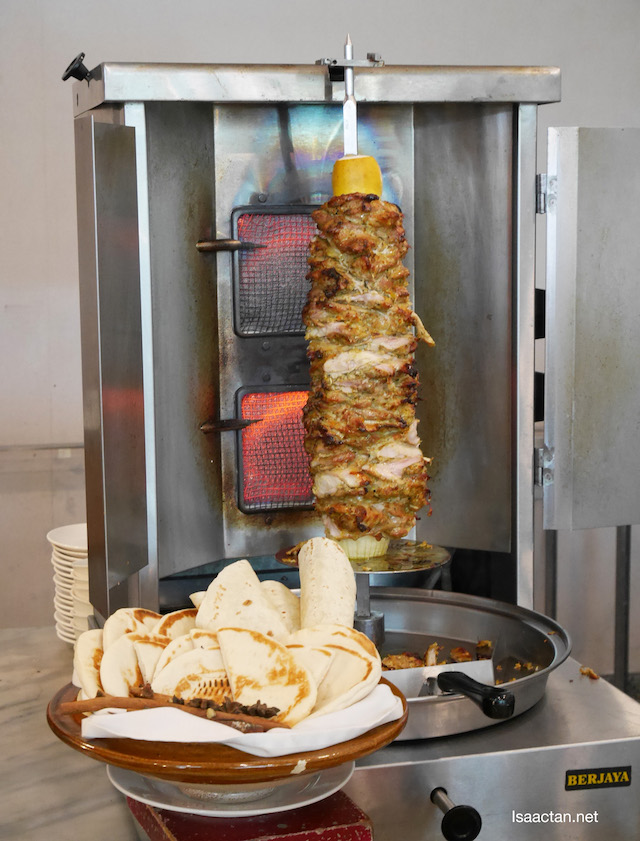 Love the Chicken Kebab with Pita bread