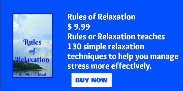 Rules of relaxation - relaxation techniques book
