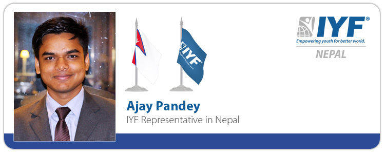 Ajay Pandey, IYF Representative in Nepal