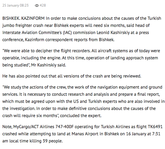 http://www.inform.kz/en/it-will-take-6-months-to-establish-causes-of-747-crash-near-bishkek-expert_a2992455