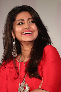 Actress Sneha Latest Stills in Red Dress at Simba Audio Launch  0011.jpg