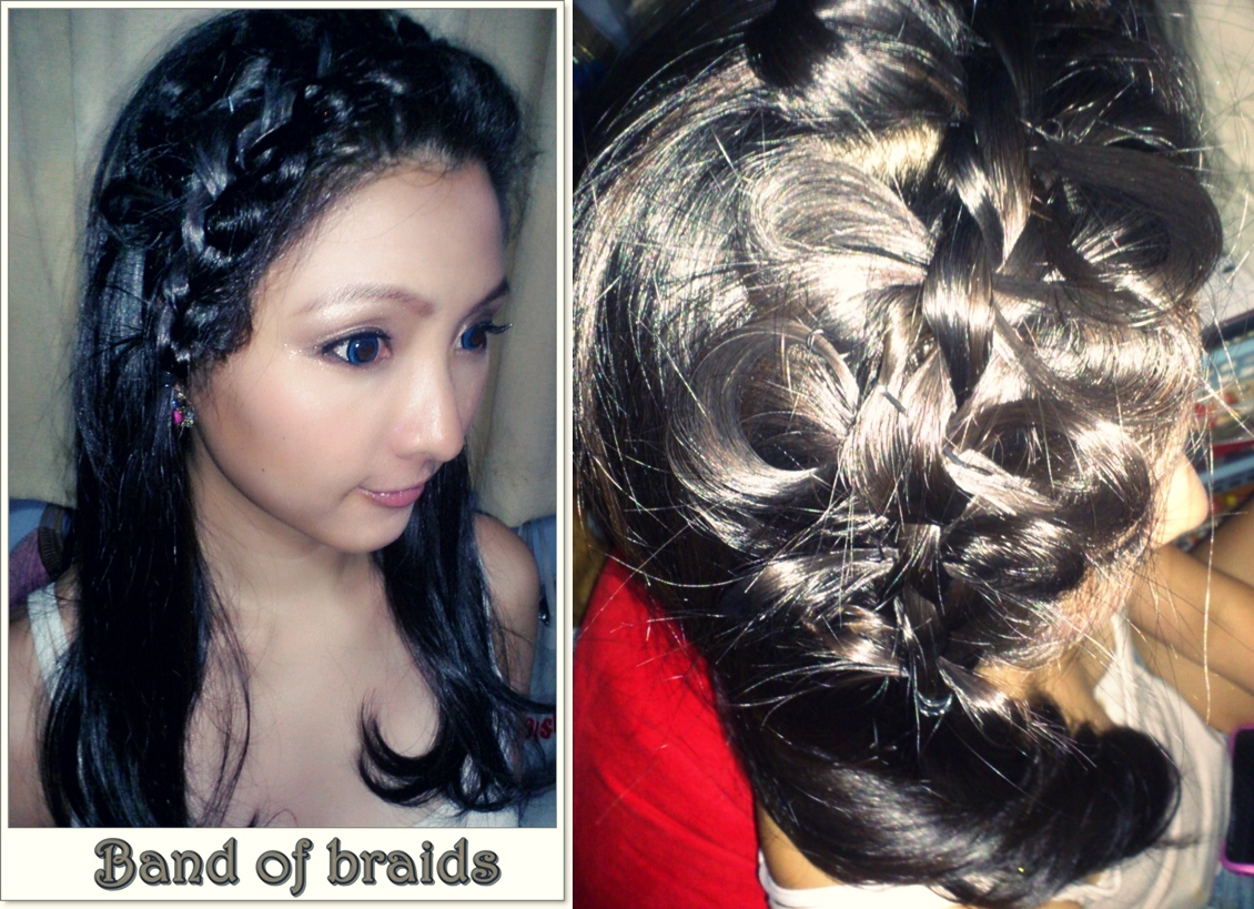 Hair Style References: The Beauty Society: Hair Styles For Reference: Bridal Braids