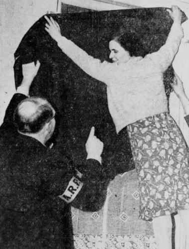 Australians practice a blackout, 16 August 1941 worldwartwo.filminspector.com