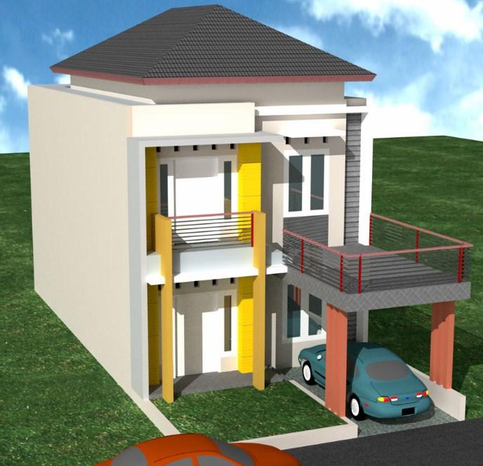 44 Model Atap Rumah Minimalis 2 Lantai Rumahku Unik