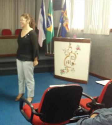 Palestra sobre Gesstão Democrática Educacional