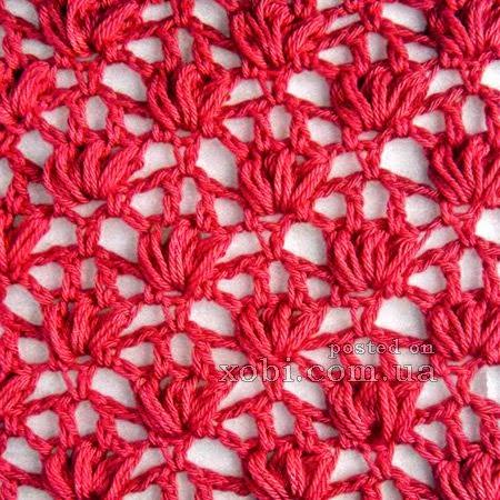 Punto Crochet Calado 10 Crochet Y Dos Agujas Patrones
