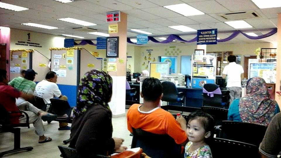 Jabatan Pendaftaran Negara cawangan Rawang, Bandar Rawang, JPN Rawang