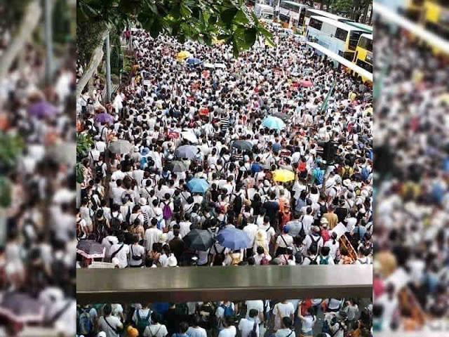 Amerika Serikat Prihatin Otonomi Hong Kong Dikikis China