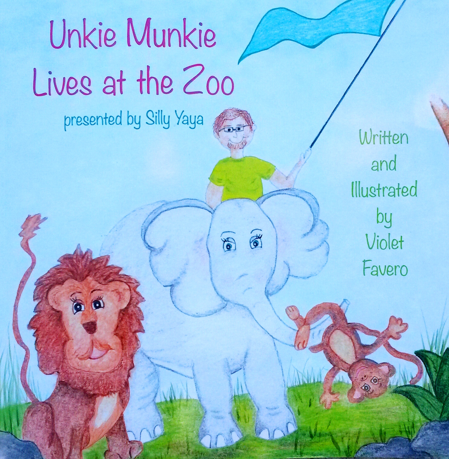 """BOOK REVIEW: """"Unkie Munkie Lives at the Zoo"""" by Violet Favero"""