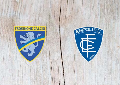 Frosinone vs Empoli -  Highlights 21 October 2018