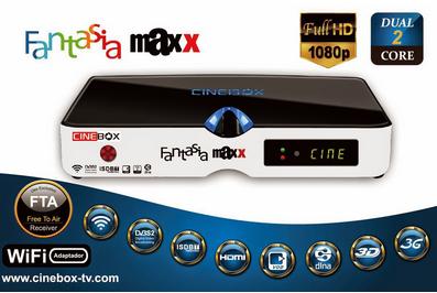 CINEBOX FANTASIA MAXX HD NOVA ATUALIZAÇÃO - 29/10/2018