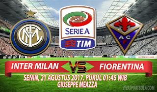 Prediksi Inter Milan vs Fiorentina 21 Agustus 2017