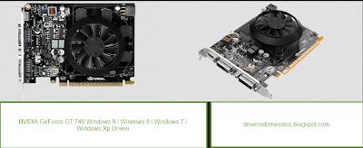 NVIDIA GeForce GT 740 ekran kartının en güncel driver dosyası.