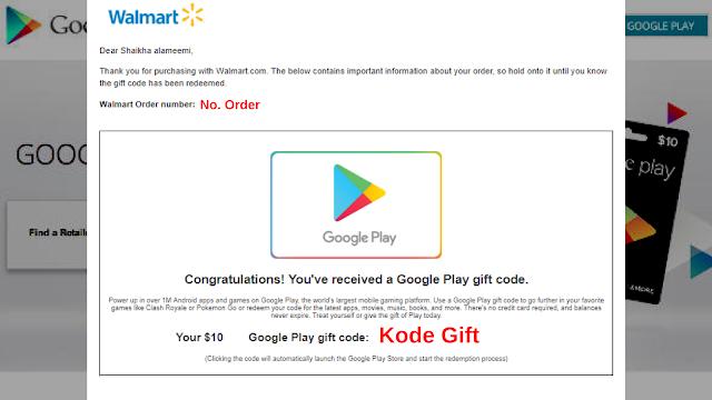 Method Order google GPC di Walmart dengan CC Hasil Carding