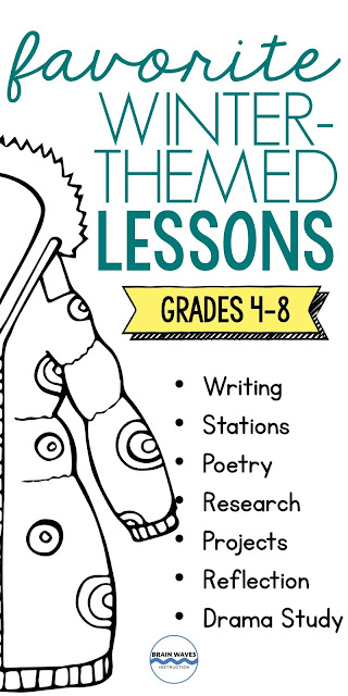 Looking for fun lessons and units to teach all winter long?  Then, you're in luck!  I've rounded up my favorite ELA lessons for the winter season!