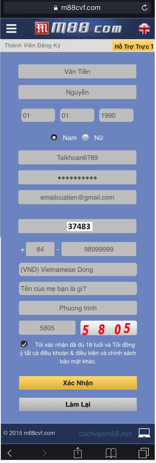 huong dan dang ky m88