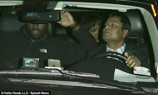 Idris Elba seen at New York nightclub with Naomi Campbell
