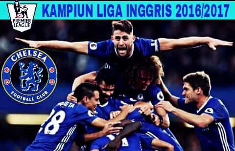 Chelsea Juara Liga Inggris Musim 2016/2017