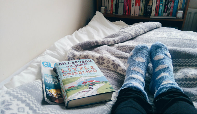 Book and Socks