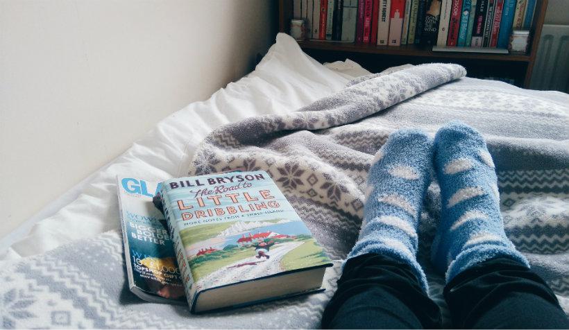 Book and Socks