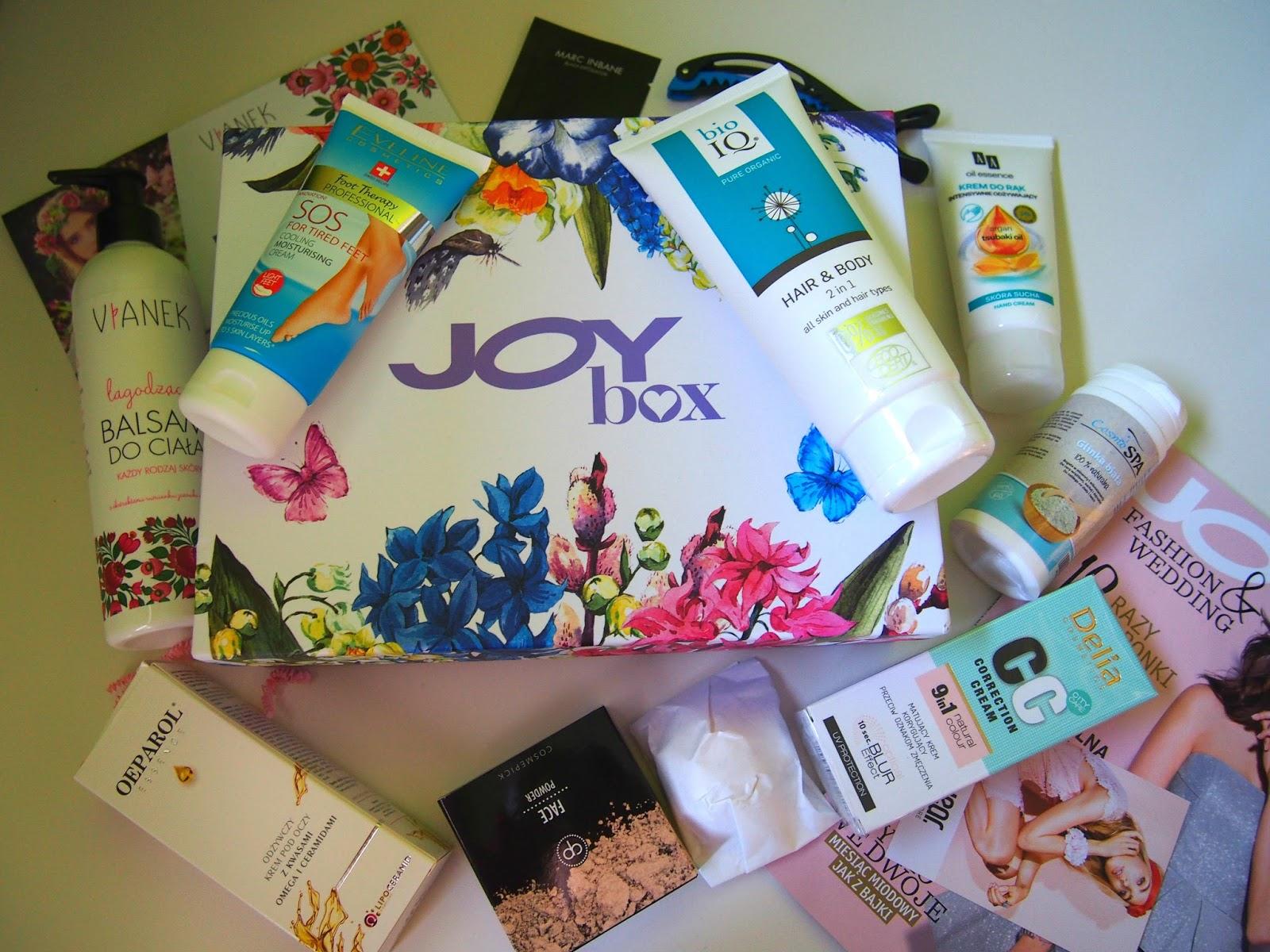 Wiosenna edycja pudełka Joy Box