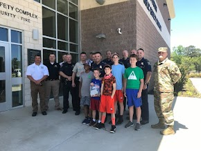 Sheriff's Department thanks local boys for $100 from lemonade stand to help with Ruston storm repairs