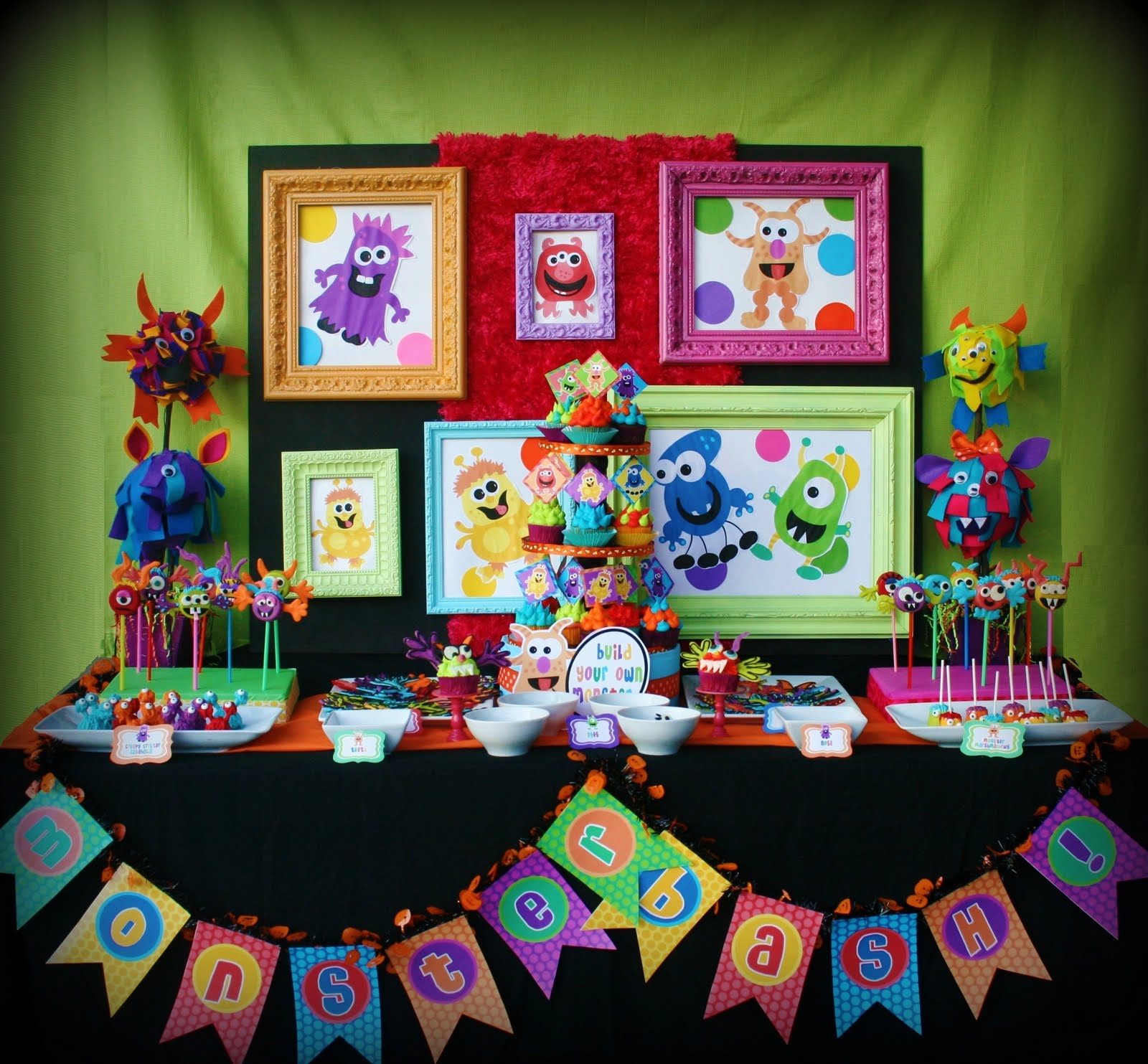 Picnic Party Birthday Themes For Girls