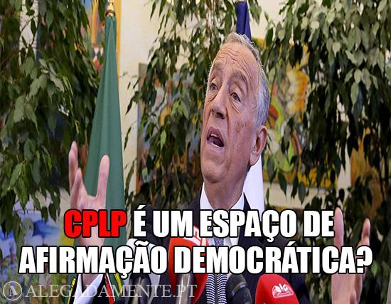 Imagens de Marcelo Rebelo de Sousa – CPLP é um espaço de afirmação democrática?