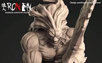 """Saber y Berserker de """"Fate/Stay Night: Unlimited Blade Works"""" - Ronin Resins"""