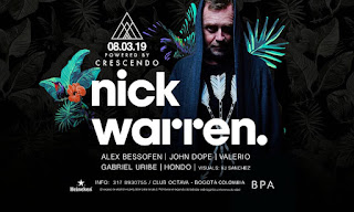 NICK WARREN at Crescendo & Octava Club