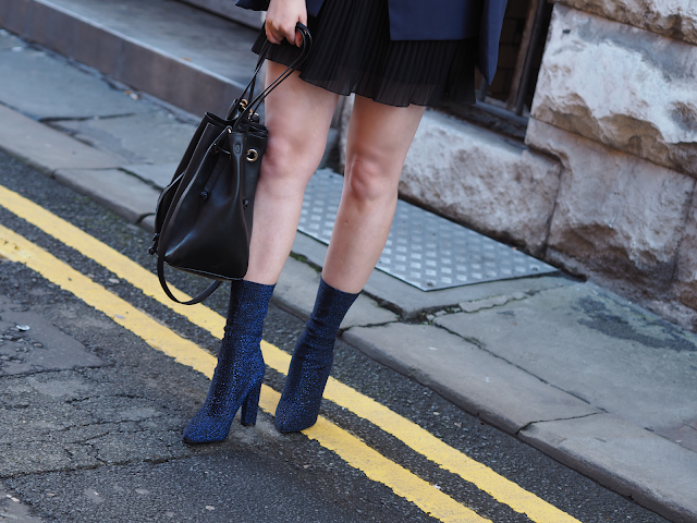 glitter boots style fashion blog