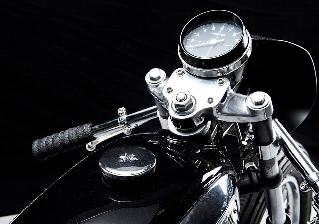 Yamaha RD125 By Sabotage Motorcycle Hell Kustom