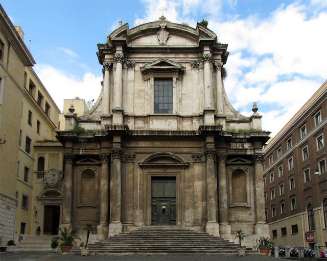 San Nicola da Tolentino agli Orti Sallustiani, Saint Nicholas of Tolentino in the Gardens of Sallust, Via di San Nicola da Tolentino, Rome