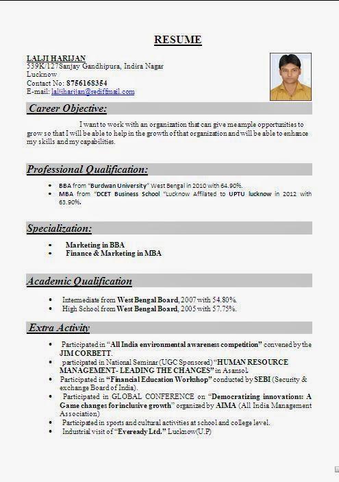 call center resume sample india