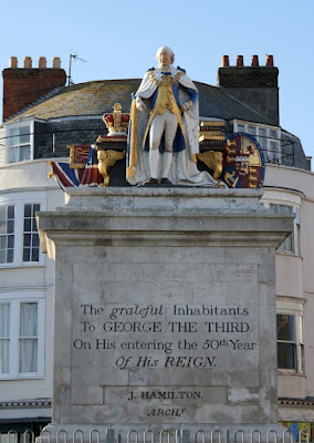 Statue of George III, Weymouth seafront