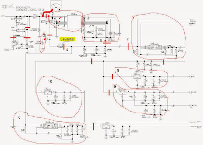 Encontrar un corto en un circuito electrónico