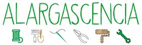 Logo con elementos del proyecto Alargascencia