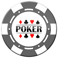 grey poker chip