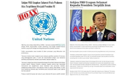 Sekjen PBB Ucapkan Selamat pada Prabowo Atas terpilihnya Menjadi Presiden RI, Berikut Fakta Sebenarnya