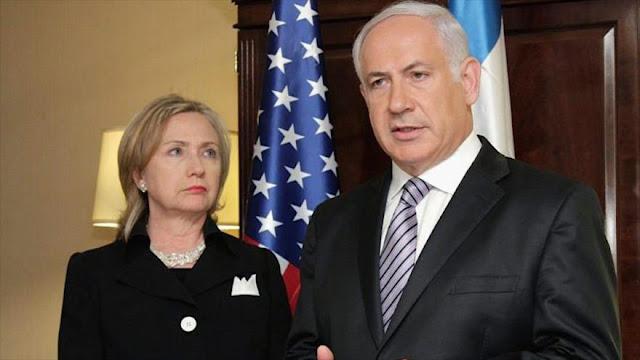 Wikileaks: Israel, preocupado por futuro de campaña de Clinton