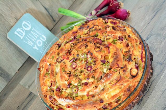 Herzhaftes Pinwheel von Bella vom Blog Lebkuchennest.