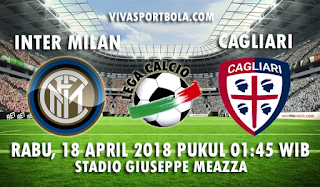 Prediksi Inter Milan vs Cagliari 18 April 2018