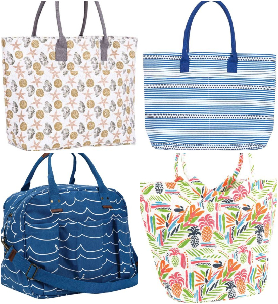 All Purpose Beach Bag Totes Canvas