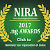 NIRA UNVEILS CATEGORIES UP FOR NOMINATIONS AT THE FORTHCOMING NIRA 2017 .NG AWARDS
