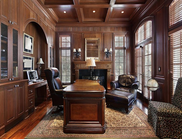 best custom bespoke fitted home office furniture design ideas